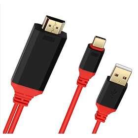 NÖRDIC USB C - HDMI 4K Adapter