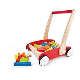 Hape Trolley With Blocks