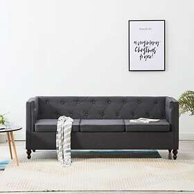Trademax Be Basic Chesterfield Canapé d'angle (3-places)