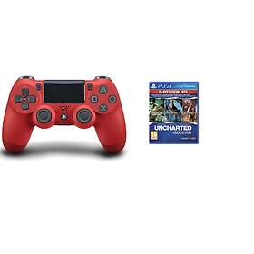 Sony DualShock 4 V2 (inkl. Uncharted: The Nathan Drake Collection) (PS4)