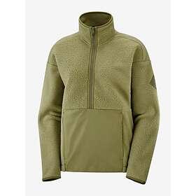 Salomon Snowshelter Teddy Sweater Half Zip (Dam)