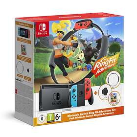 Nintendo Switch (2019) (inkl. Ring Fit Adventure)