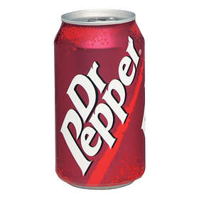 Dr Pepper Burk 0,335l 24-pack