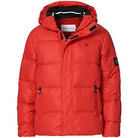 Calvin Klein Jeans Hooded Down Puffer Jacket (Herr)