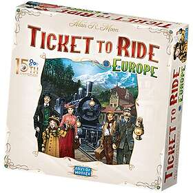 Ticket to Ride: Europe (15th Anniversary Edition)