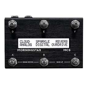 MorningStar FX MC6 MkII Midi