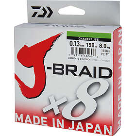 Daiwa J-Braid Grand X8 0.10mm 135m