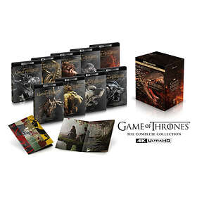 Game of Thrones - Sesong 1-8 (UHD) (SE)