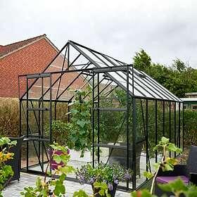Halls Magnum Växthus 11,5 m² (Aluminium/Glas)