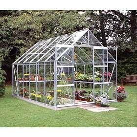 Halls Magnum Växthus 9,9 m² (Aluminium/Glas)