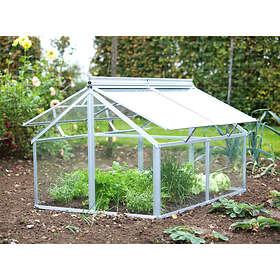 Vitavia Gaia Jumbo Grogrund Växthus 0,96m² (Glas)