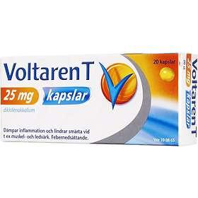 GSK GlaxoSmithKline Voltaren T 25mg 20 Tabletter
