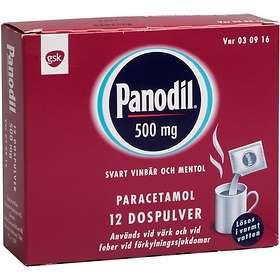 GSK GlaxoSmithKline Panodil 500mg Pulver 12st