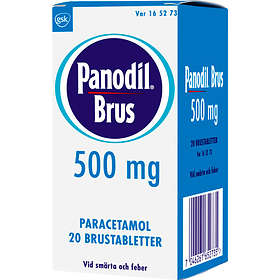 GSK GlaxoSmithKline Panodil 500mg 20 Brustabletter
