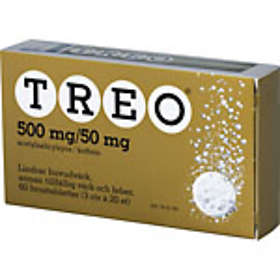 Meda Treo 500mg/50mg 60 Tabletter