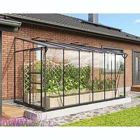 Vitavia Ida 7800 Väggväxthus 7,8m² (Glas/Polykarbonat)