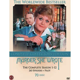 Murder, She Wrote - Sesong 1-12 (SE)