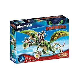 Playmobil Dragons 70730 Dragon Racing Flåbusa Och Flåbuse Med Rap Och Kräk
