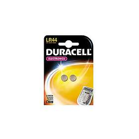 Duracell Knappcellsbatteri (LR44) [2-pack]