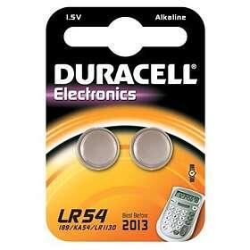 Duracell Knappcellsbatteri (LR54) [2-pack]