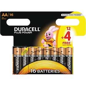 Duracell Plus Power AAA-batterier (LR03) [16-pack]