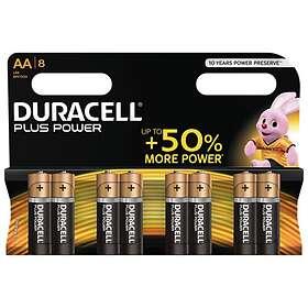 Duracell Plus Power AA-batterier (LR6) [8-pack]