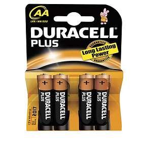 Duracell Plus Power AA-batterier (LR6) [4-pack]