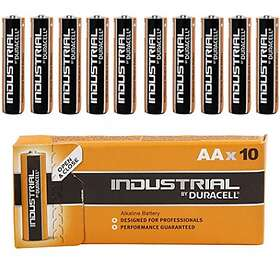 Duracell Industrial AA-batterier (LR6) [10-pack]