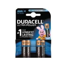 Duracell Ultra Power AAA-batterier (LR03) [4-pack]