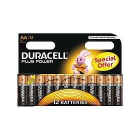 Duracell Plus Power AA-batterier (LR6) [12-pack]