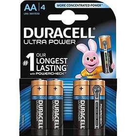 Duracell Ultra Power AA-batterier (LR6) [4-pack]