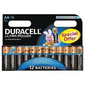 Duracell Ultra Power AA-batterier (LR6) [12-pack]
