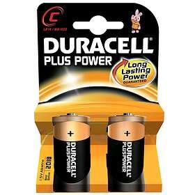 Duracell Plus Power C-batterier (LR14) [2-pack]