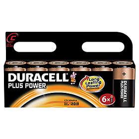Duracell Plus Power C-batterier (LR14) [6-pack]