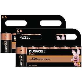 Duracell Plus Power C-batterier (LR14) [12-pack]