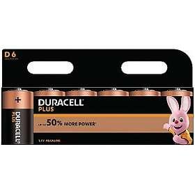 Duracell Plus Power D-batterier (LR20) [6-pack]