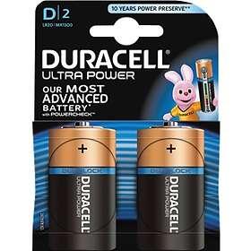 Duracell Ultra Power D-batterier (LR20) [8-pack]