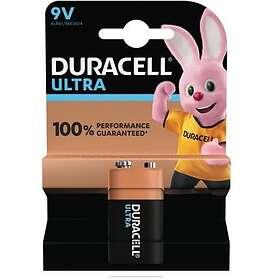 Duracell Ultra Power 9V-batterier (6LR61)