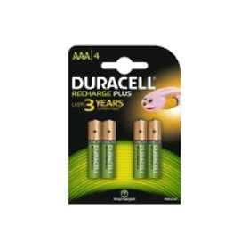 Duracell Recharegeable AAA 750 mAh (HR3-B) [4-pack]