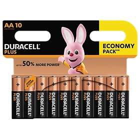 Duracell Plus Power AA-batterier (LR6) [10-pack]