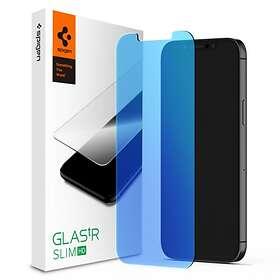 Spigen GLAS.tR Slim EZ Fit AntiBlue for iPhone 12 Pro Max