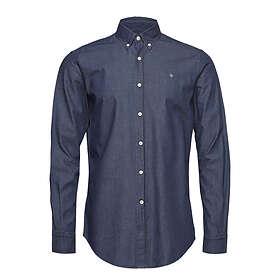 Morris Julian Button Down Denim Shirt (Herr)