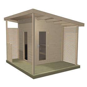 Harvia Solide Compact Outdoor