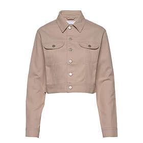 Calvin Klein Jeans Cropped Twill Jacket (Dam)