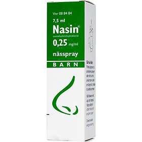 GSK GlaxoSmithKline Nasin Nässpray 0,25mg/ml 7,5ml