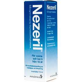 GSK GlaxoSmithKline Nezeril Nässpray 0.5mg/ml 7,5ml