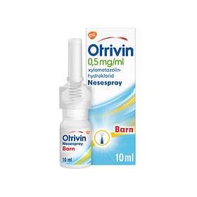 GSK GlaxoSmithKline Otrivin Nässpray 0,5mg/ml 10ml