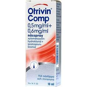 GSK GlaxoSmithKline Otrivin Comp Nässpray 0,5mg/ml + 0,6mg/ml 10ml