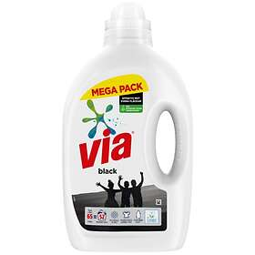 VIA Black Flytande Tvättmedel 2,6L