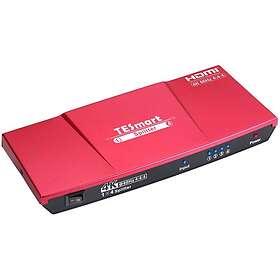 NÖRDIC 18Gbps HDMI - 4xHDMI F-F Splitter Adapter